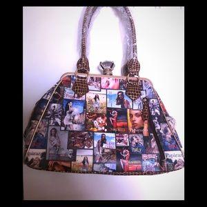 Paparazzo purse with several zipper pocket